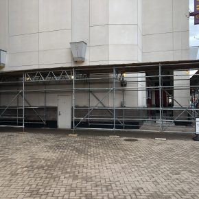 Projects  |  Ballston Quarter  |  Sidewalk/Pedestrian Protection