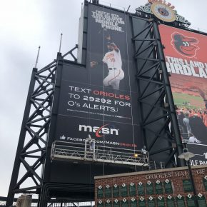 Projects     Oriole Park at Camden Yards     Swing Stage