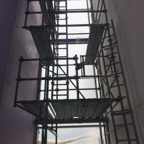 Projects  |  Corenic  |  Confined Space  |  Wall Access  |  Ladder Access