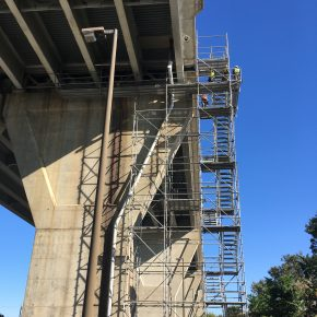 Projects  |  Kent Narrows Bridge |  Stair Tower  |  Bridge Access