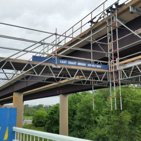 Projects  |  Rt 26 Sykesville  |  Bridge Scaffold  |  Dance Floor  |  Stair Tower